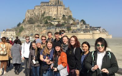 Mont Saint Michel and D-Day Sites